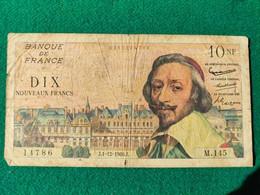 Francia 10 Francs 1960 - 10 NF 1959-1963 ''Richelieu''