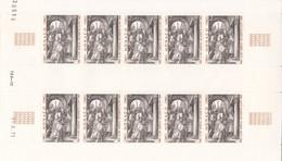 Monaco 1972 - N° 876 - Le Christ Devant Pilate - Albrecht Dürer - Neuf  - Feuille Avec Coin Daté - - Nuovi