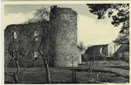 ROUVROY-MONTQUINTIN : Vue Des Ruines Du Château - Rouvroy
