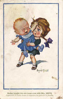 Donald Mc Gill Apprenant De Bonne Heure à Connaitre Les Joies De La Famille  Recto Verso - Humorous Cards