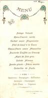 Menu à Nay (64), 1929, Turbot, Boeuf Tosca, Poularde, Foie Gras, Bombe, Sauternes, Saint-Emilion, Jurançon, Champagne - Menus