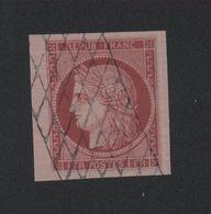 Faux N° 6 1 F Cérès Oblitération Grille Sans Fin - 1849-1850 Ceres