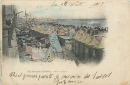 CPA 85 Vendée Les Sables D'Olonne Sur La Plage - Précurseur - 1900 - Sables D'Olonne