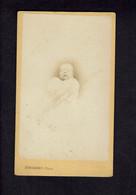 Photographie Origine Studio: - DUBORDIEU - VALENCE -1873 - François MOUTET Bébé 10 Mois Avant Son Décés. - Pin-ups