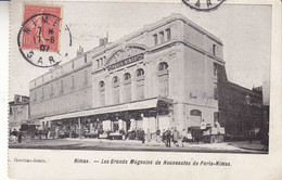 30 - GARD - NIMES -  Les Grands Magasins De Nouveautés De Paris-Nimes - Nîmes