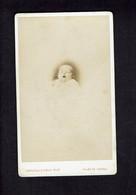 Photographie Origine Studio: - F. GIROUD - VALENCE -1875 - Claudine (dite Claudia) MOUTET Bébé. - Pin-ups