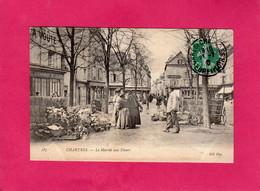 28 Eure Et Loir, CHARTRES, Le Marché Aux Fleurs, Animée, Commerces, 190?, (ND Phot) - Chartres