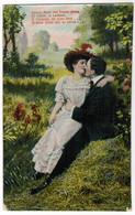 Romantic Couple Poem, Couple Rmoantique (pk67893) - Other
