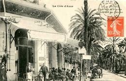 HYERES  = Grand Café De L'univers Et Boulevard Des Palmiers   2205 - Andere Gemeenten