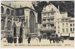 DINANT : L'église Notre-Dame - Grande Fenêtre Du Transept - Très Belle Animation - Dinant