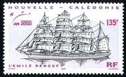 NOUV.-CALEDONIE 2000 - Yv. 813 **   Faciale= 1,13 EUR - Grand Voilier 'Emile Renouf'  ..Réf.NCE26482 - Nuovi