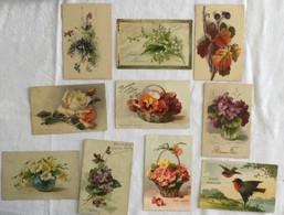 Lot De 10 Cartes -Klein -fleurs -481 490 - Sin Clasificación