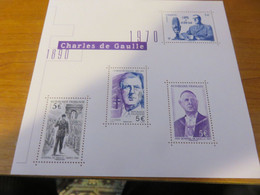 Bloc Charles De Gaulle Neuf** - Mint/Hinged