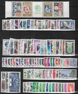 France A Partir 1960 Lot 135  Timbres Neufs ** - Plus 100 Timbres En Blocs, Paires - Quelques Doubles Ou Plus Voir Scans - Verzamelingen