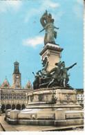 02Q02H7 CPSMPF 02 -3. SAINT QUENTIN  L HOTEL DE VILLE ET LE MONUMENT  NV - Saint Quentin