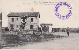 CP Ill Gare D'Aspach Cachet Du Lieutenant De Détachement De Douaniers écrite 10/6/1915 'Troupes En Campagne' - 1. Weltkrieg 1914-1918