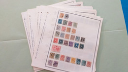 Lot N° TH 362 BELGIQUE Espagne  . Collection Sur Page D'albums Neufs X Ou Obl - Sammlungen (im Alben)