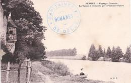 CP Cachet Bleu Capitainerie Des Douanes De Delle Datée 26/9/1915 - 1. Weltkrieg 1914-1918