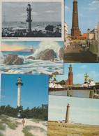 Lot 43 Ansichtskarten Motiv Leuchtturm, In- Und Ausland - 5 - 99 Postkaarten
