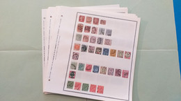 Lot N° TH 361 GR. BRET. Etats Unis , Canada   . Collection Sur Page D'albums Neufs X Ou Obl - Sammlungen (im Alben)