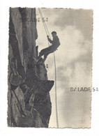 """CPM - BRIANCON (05) Collection """"Haute Montagne"""" De L. FRANCOU - Descente En Rappel - Mountaineering, Alpinism"""