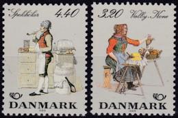 Dänemark, 1989, 947/48, MNH **, NORDEN: Volkstrachten. - Nuevos