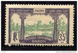 GABON - 58** -  VUE DE LIBREVILLE - Neufs