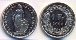 Switzerland Swiss 1 Franc 2008 XF - Suiza