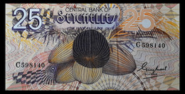 # # # Banknote Seychellen (Seychelles) Central Bank 25 Rupees # # # - Unclassified