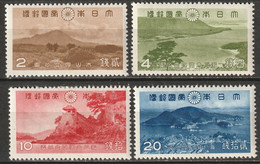 Japan 1939 Sc 285-8  Set MLH*/MH* - Unused Stamps