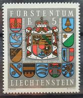 Liechtenstein 1973, Mi 590 MNH Postfrisch - Ungebraucht
