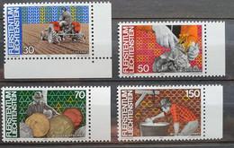Liechtenstein 1982, Mi 802-05 MNH Postfrisch - Ungebraucht