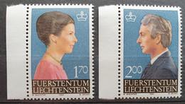 Liechtenstein 1984, Mi 864-65 MNH Postfrisch - Ungebraucht