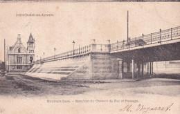 BERCHEM / ANTWERPEN / NIEUW STATION / SPOORWEGBRUG EN DOORGANG 1905 - Antwerpen
