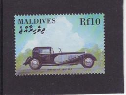 Maldives  -   Bugatti Royale  -  1931  -  1v Timbre  -   Neuf/Mint/MNH - Auto's