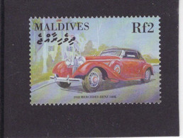 Maldives  -   Mercedes-Benz 540K  -  1938  -  1v Timbre  -   Neuf/Mint/MNH - Coches