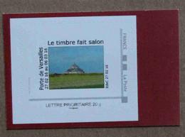 P3-B3 : Salon International De L'Agriculture 2016 - Mont-Saint-Michel (autocollant / Autoadhésif) - Luchtpost