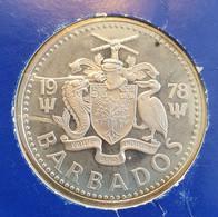 Barbados 10 Dollars 1978 Proof (silver) - Barbados