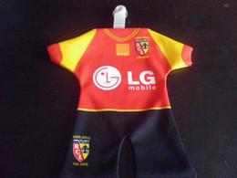 Mini Maillot Football - RCL LENS 2006 - Habillement, Souvenirs & Autres