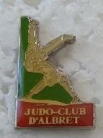 Pin's - Judo - JUDO-CLUB D'ALBRET - - Judo