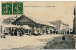MONTS SUR GUESNES - Place Des Halles - Monts Sur Guesnes