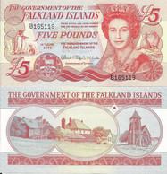 Falkland Islands 5 Pounds 2005. UNC - Falkland Islands