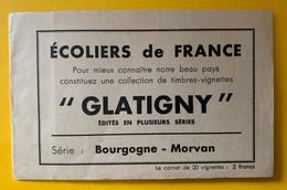 13473 -  Ecoliers De France Carnet Glatigny Bourgogne-Morvan Incomplet 18/20 - Tourisme (Vignettes)