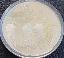 "Canada 5 Dollars 1976 ""XXI Olympics In Montreal - Boxing"" - Canada"