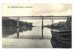 DOUARNENEZ - Péniche - Bateau De Travail Près Du GRAND PONT - Belle Carte - Douarnenez