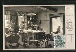 AK Soldaten Im Moment Des Überfalles In Der Wirtsstube Des Schirlenhofes - Unclassified