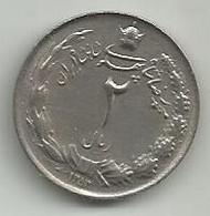 2 Rials 1353 (1974) KM#1173 - Iran