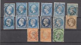FRANCE : PETIT LOT D'ANCIENS À TRIER - Lots & Kiloware (mixtures) - Max. 999 Stamps