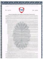Titre Ancien - FINA  - Warrant Permettant De Souscrire à Des Actions Petrofina - N° 11257 - Oil
