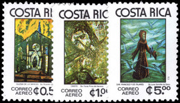 Costa Rica 1977 Mystical Paintings Unmounted Mint. - Costa Rica